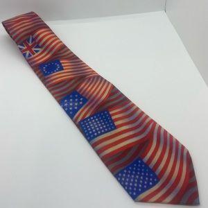 Ralph Marlin History of American Flag Men's Tie